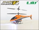 ESKY Lama V4 V II 2,4 GHZ RC-Koaxial Heli Orange
