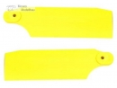 KBDD Pro Tail Blades - Neon Yellow 61mm